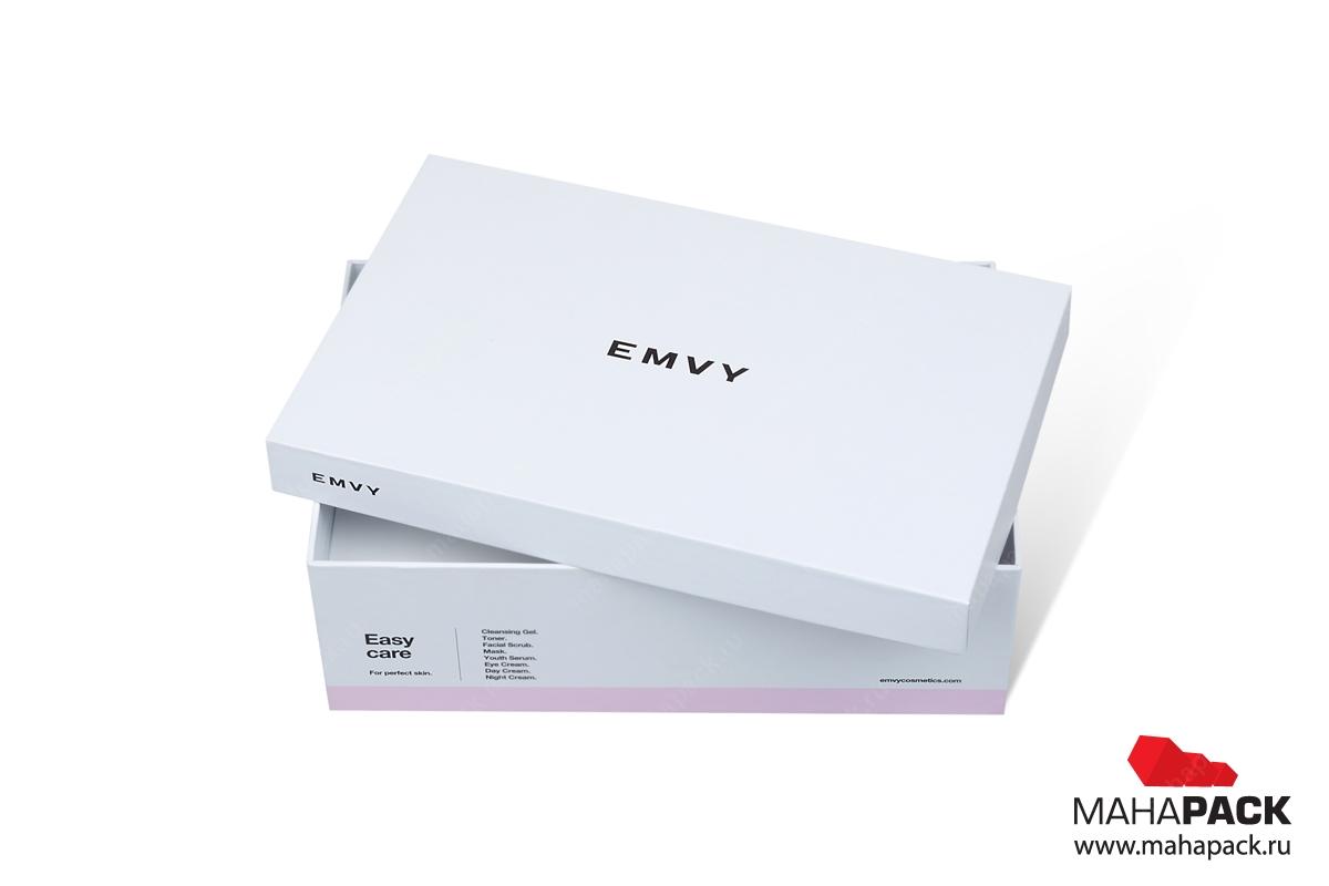 упаковка для парфюмерии - коробка крышка дно от производителя
