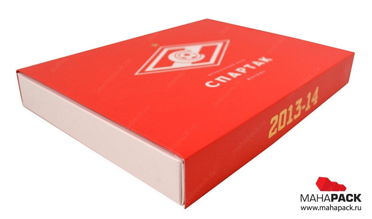 Подарочная коробка для пластиковой карты и кожаного чехла