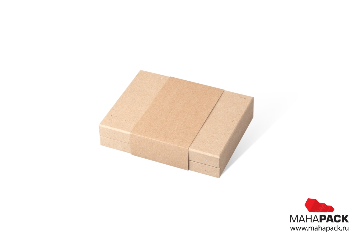 крафтовая коробка от производителя