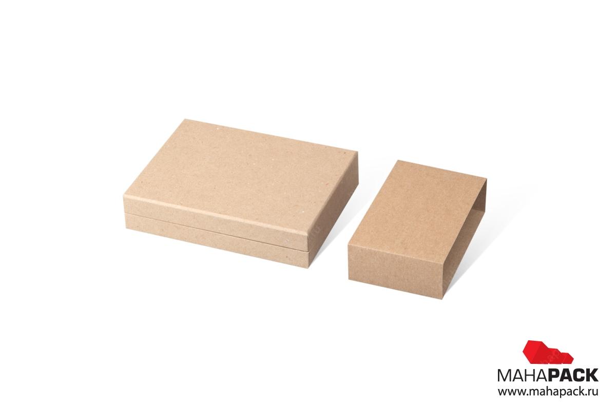 крафтовая коробка с шубером