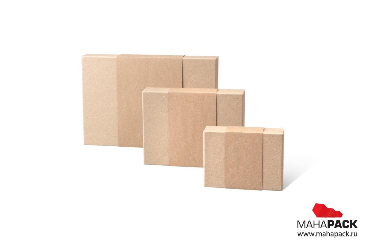 крафтовая коробка дизайнерская