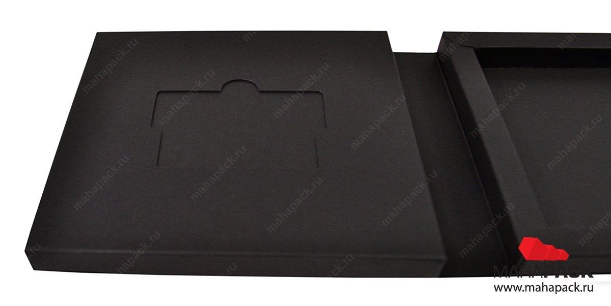 Дизайнерская упаковка для пластиковой карты и буклета