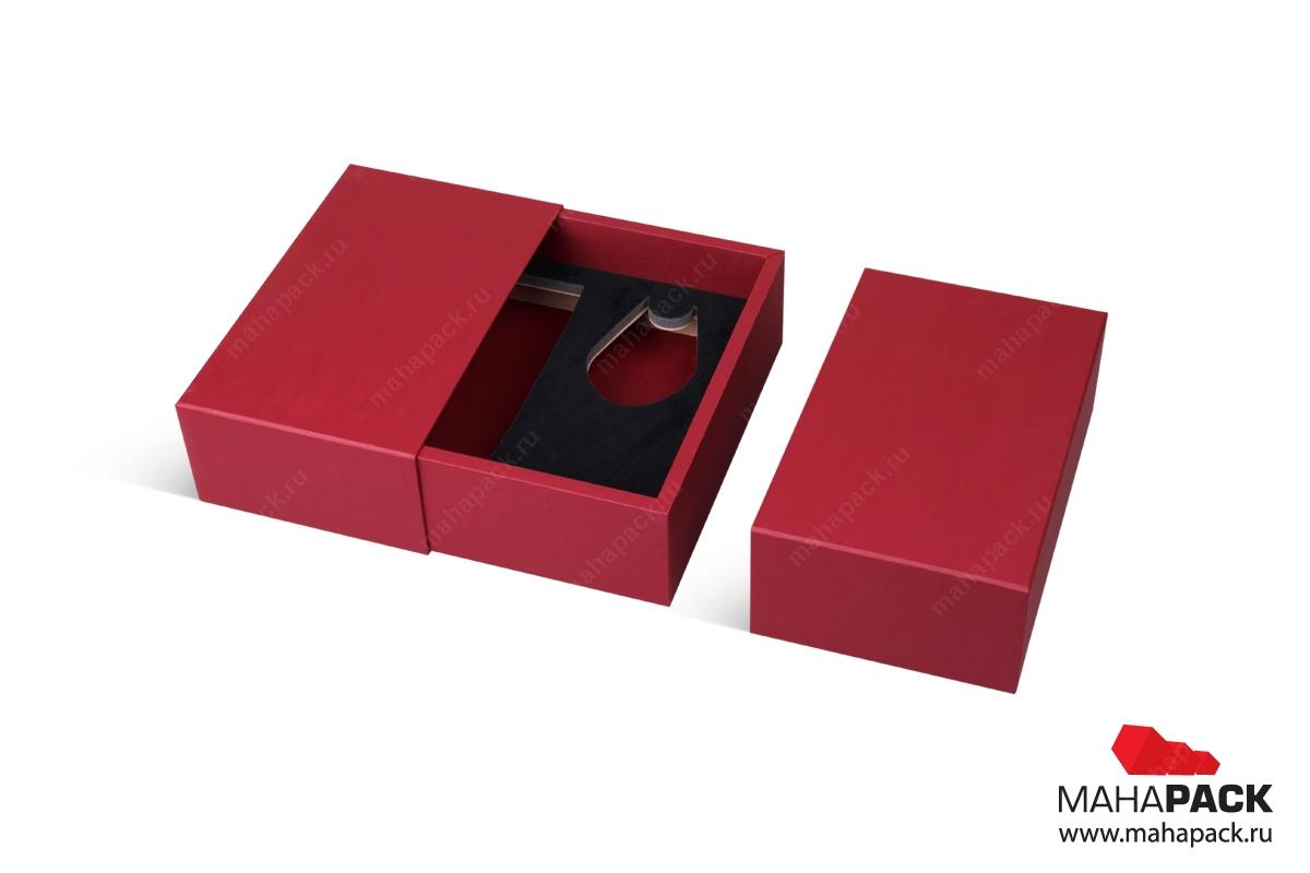 коробка пенал большим тиражом