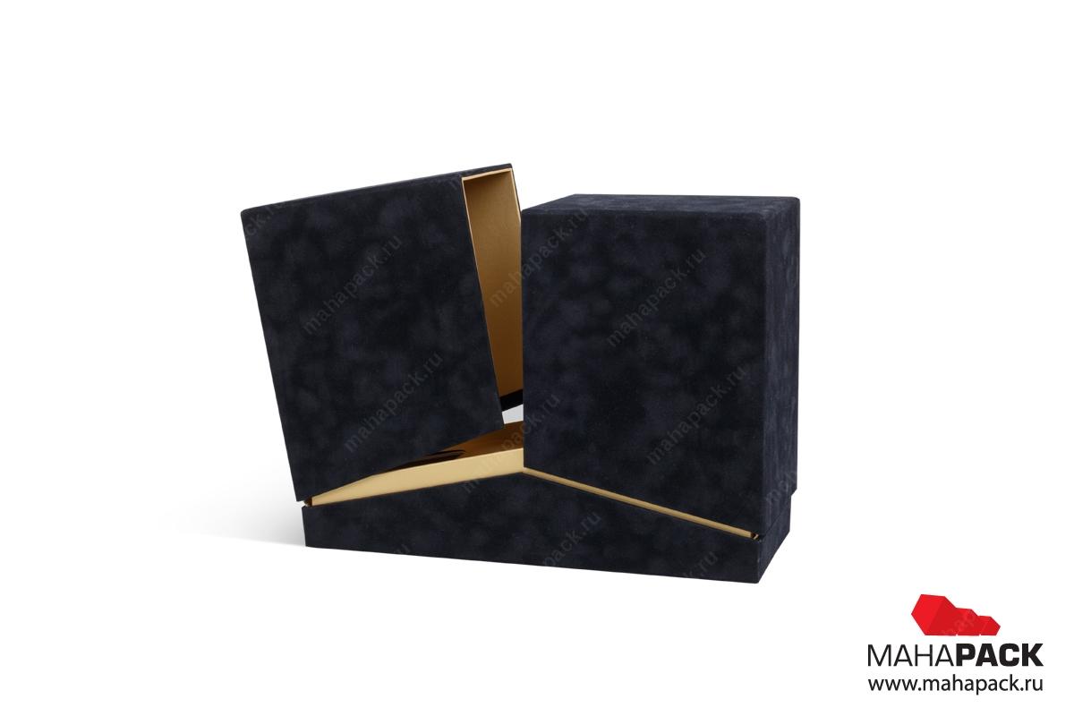 производство коробок из бархатной ткани в Москве