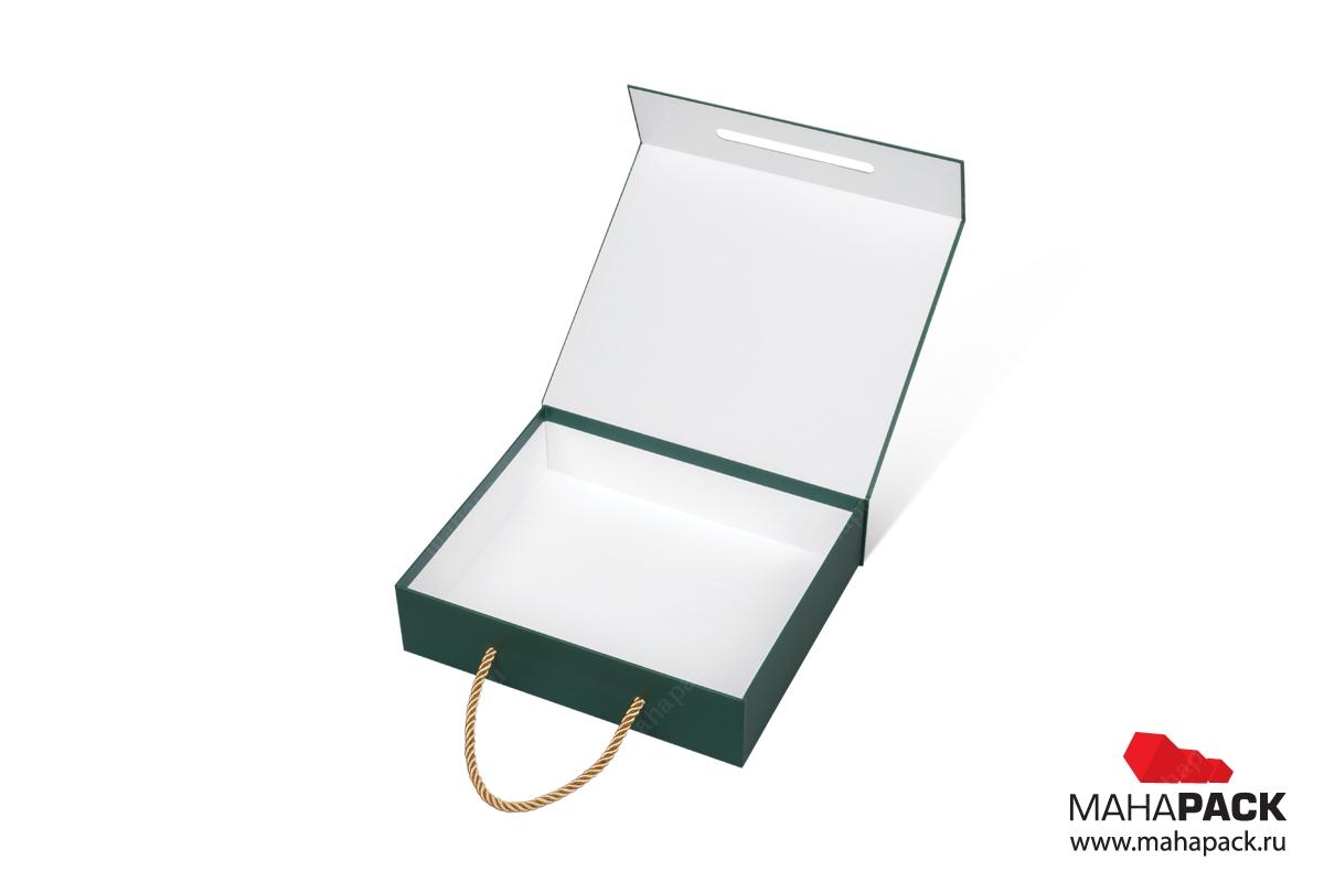 производство подарочных коробок с логотипом мелованная бумага