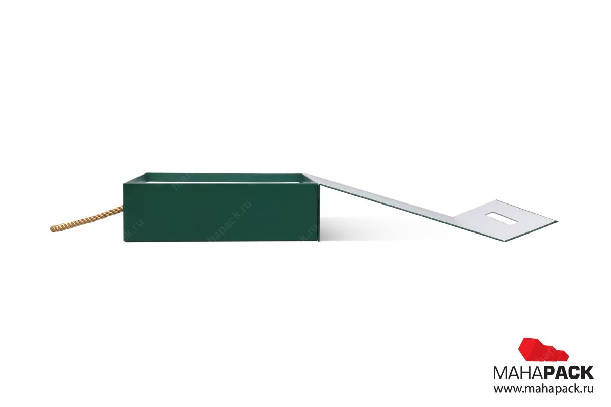 производство подарочных коробок с логотипом большим тиражом