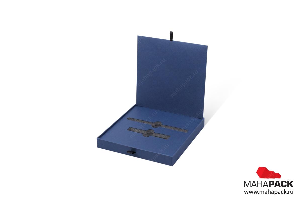 изготовление коробок с логотипом премиум упаковка