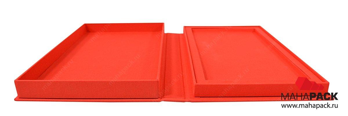 Кашированная коробка для подарка