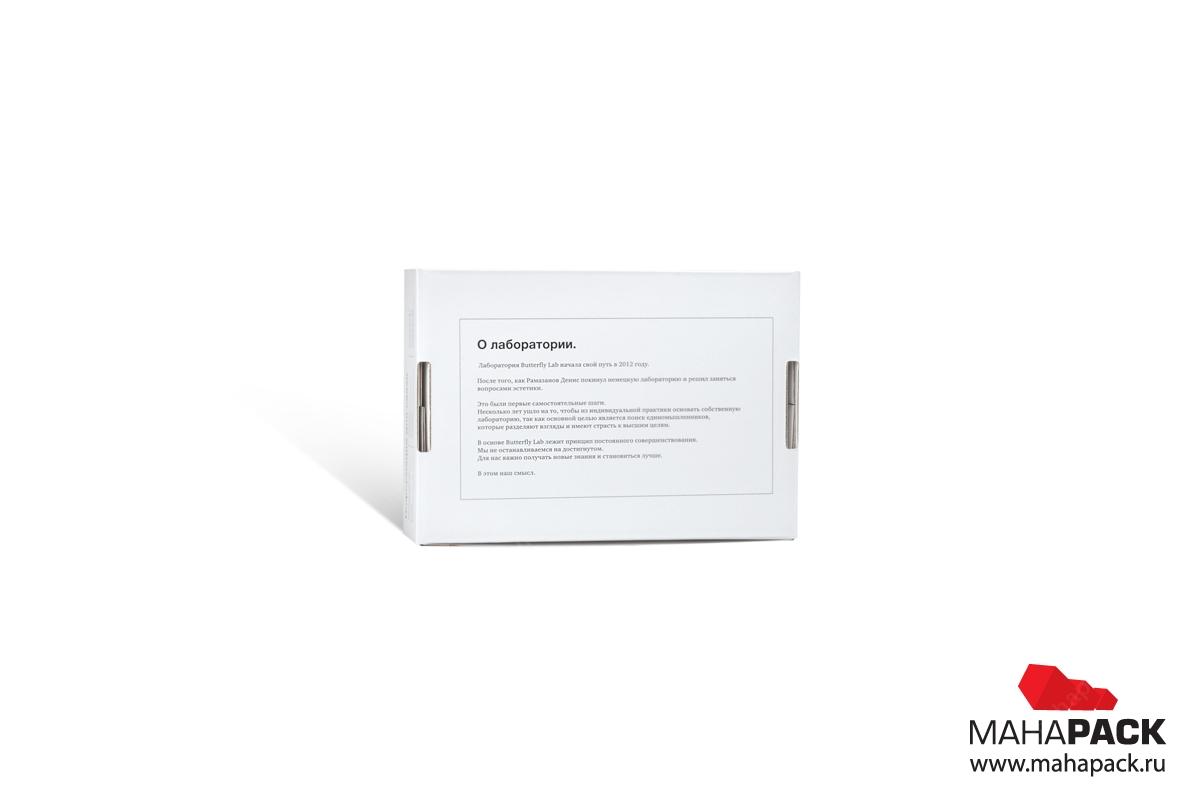 коробка из микрогофрокартона со своим дизайном