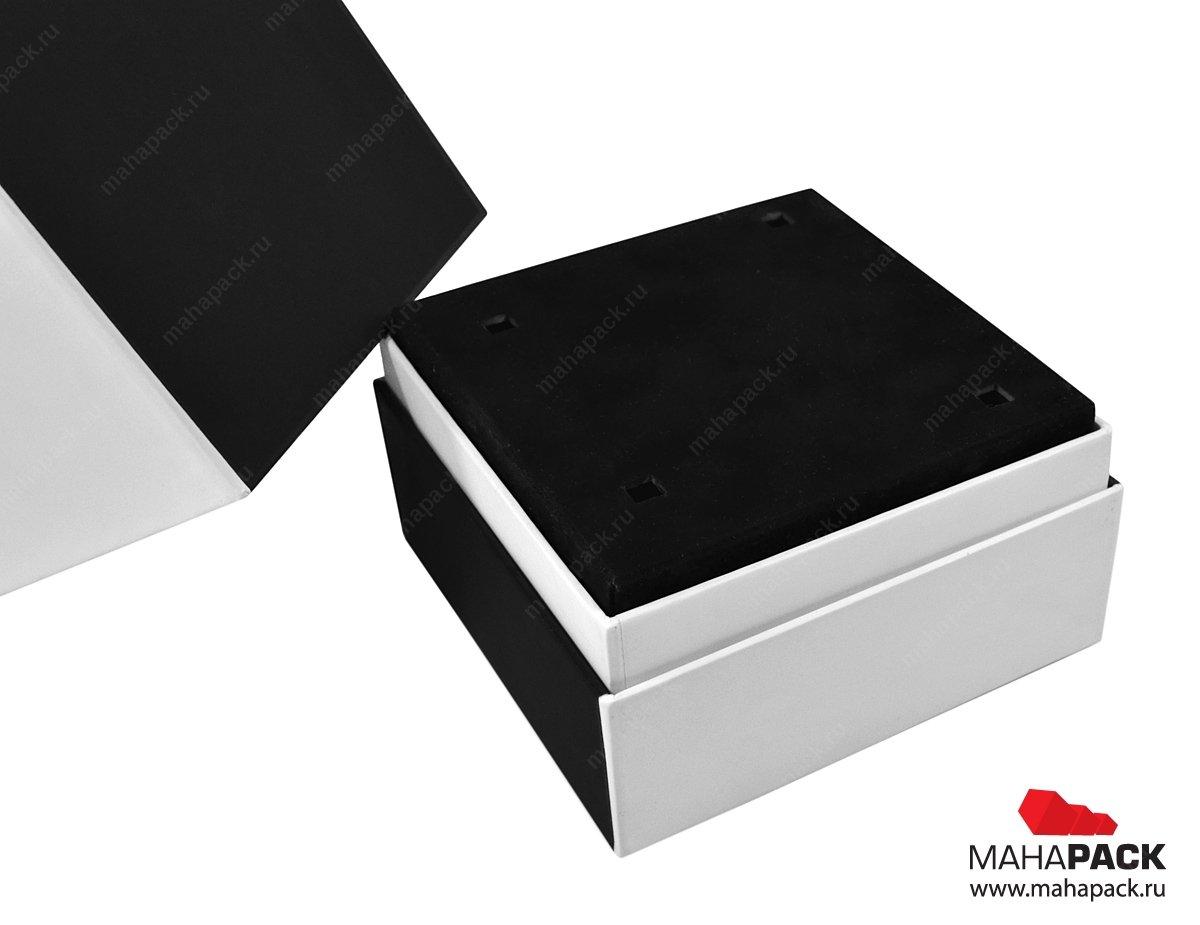 Кашированная коробка-тубус для сувенира