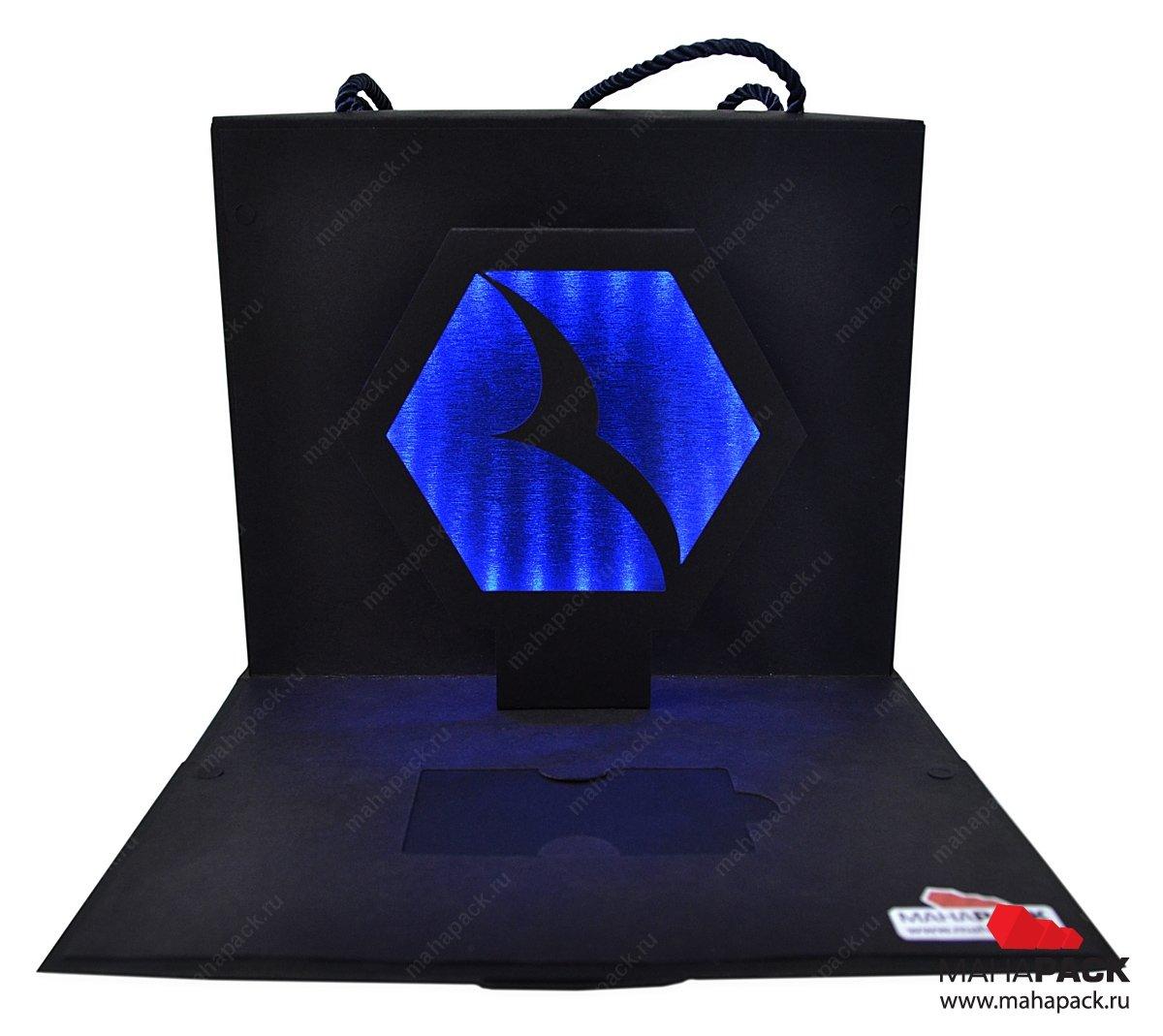 Эксклюзивная упаковка с pop-up эффектом и диодной подсветкой
