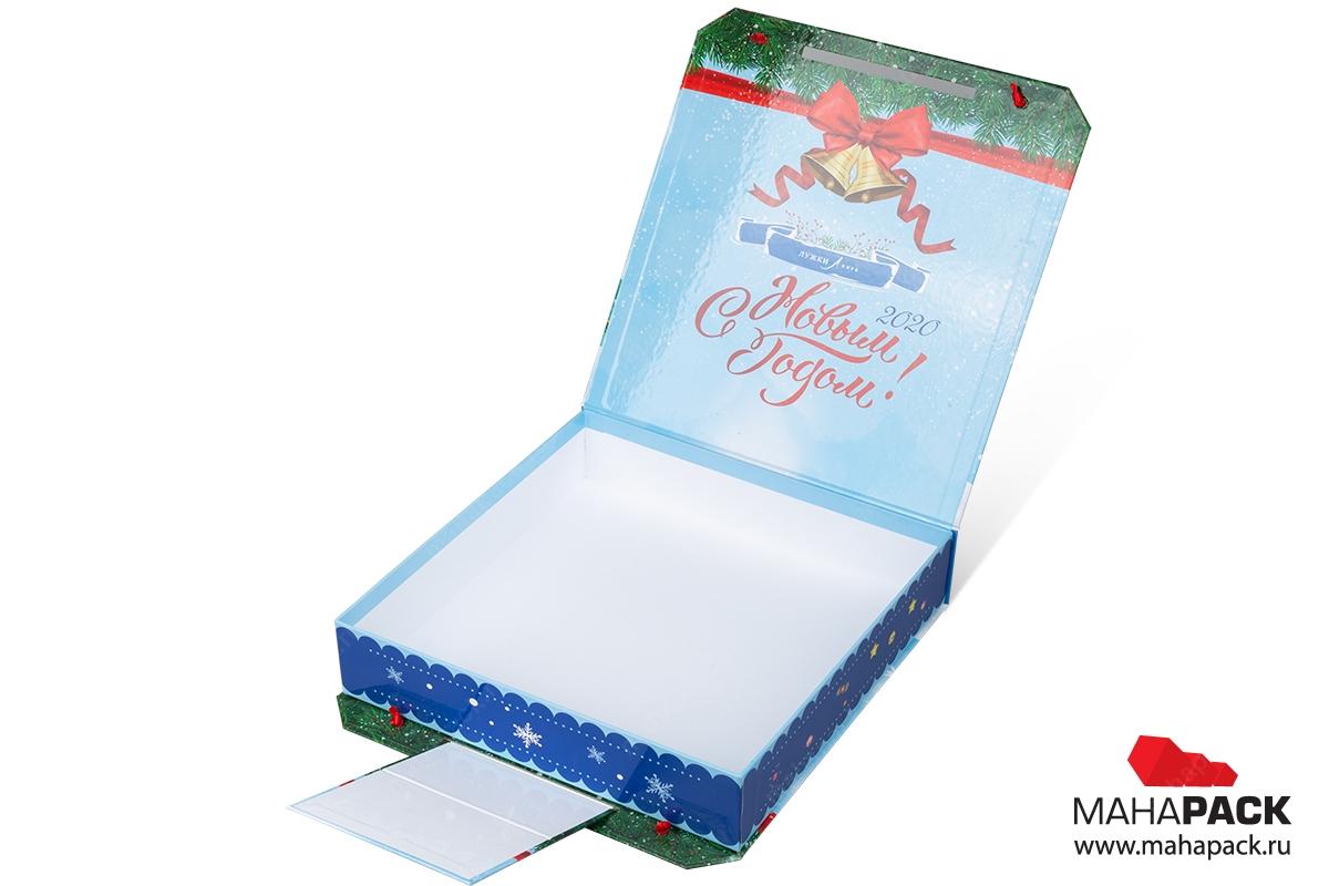 новогодний чемодан в Москве – производство на заказ