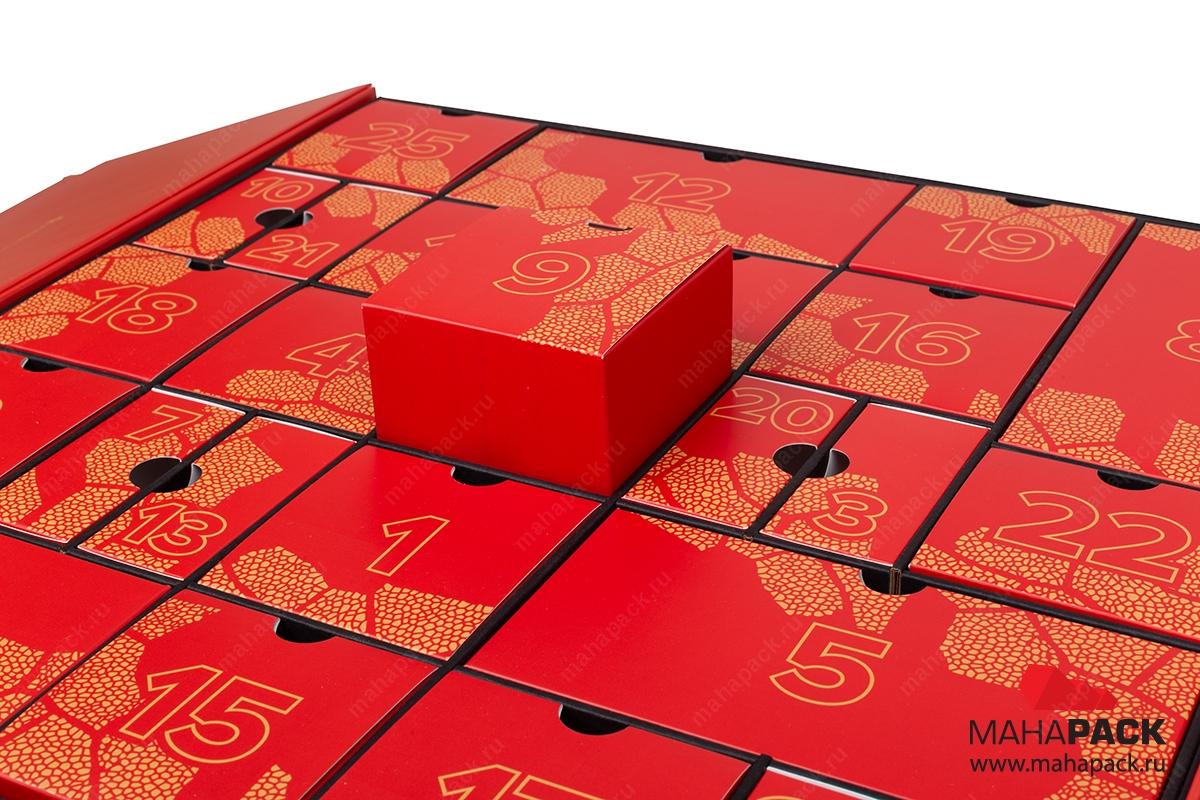 адвент-календарь в Москве – производство на заказ