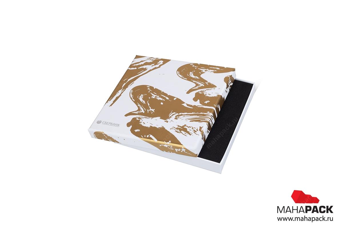 подарочная коробка для кредитной карты кашированная