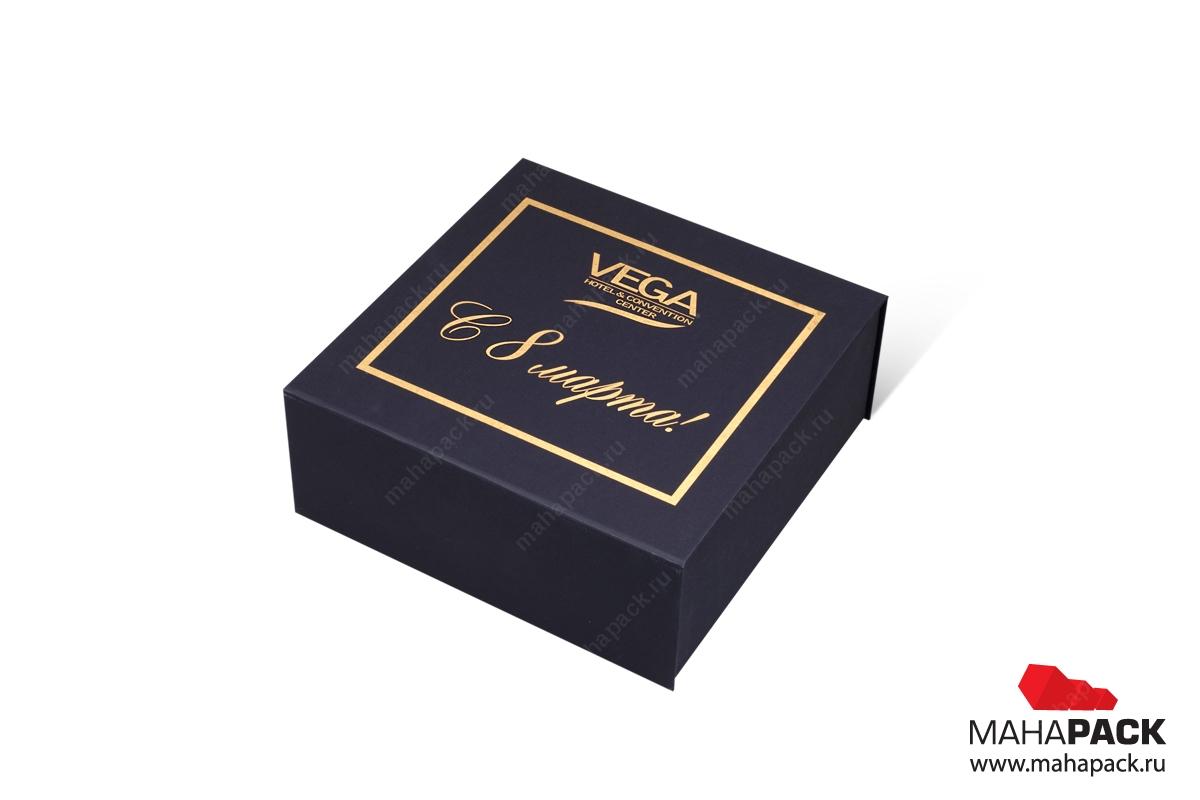 Коробка с магнитом в Москве – производство на заказ