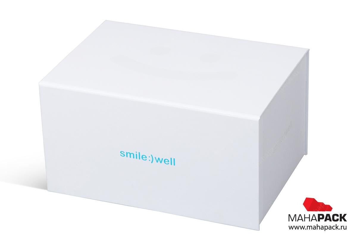 заказать коробку для упаковки с логотипом