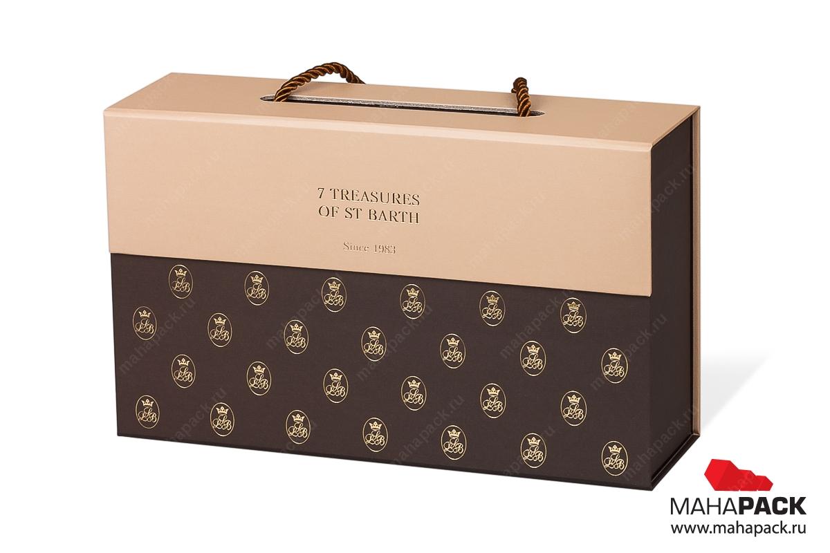 изготовление коробки с логотипом в Москве