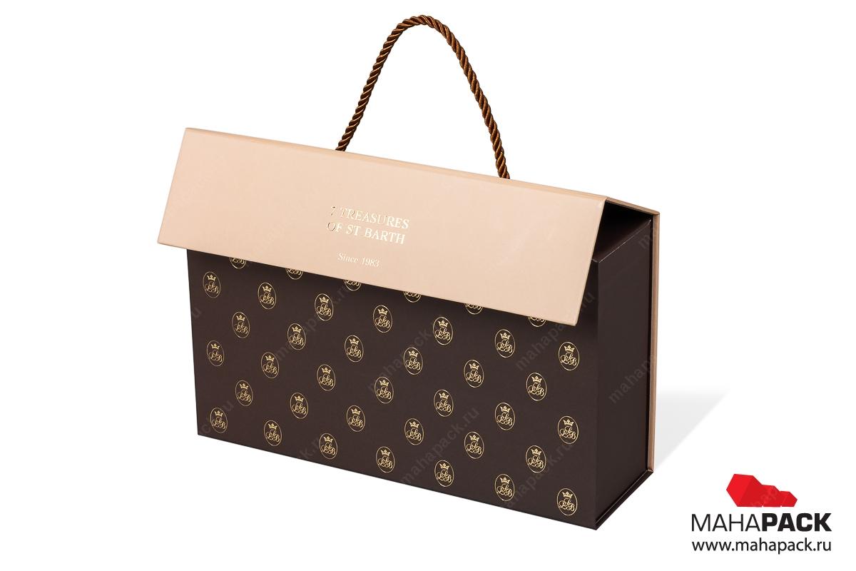 изготовление коробки с логотипом Москва