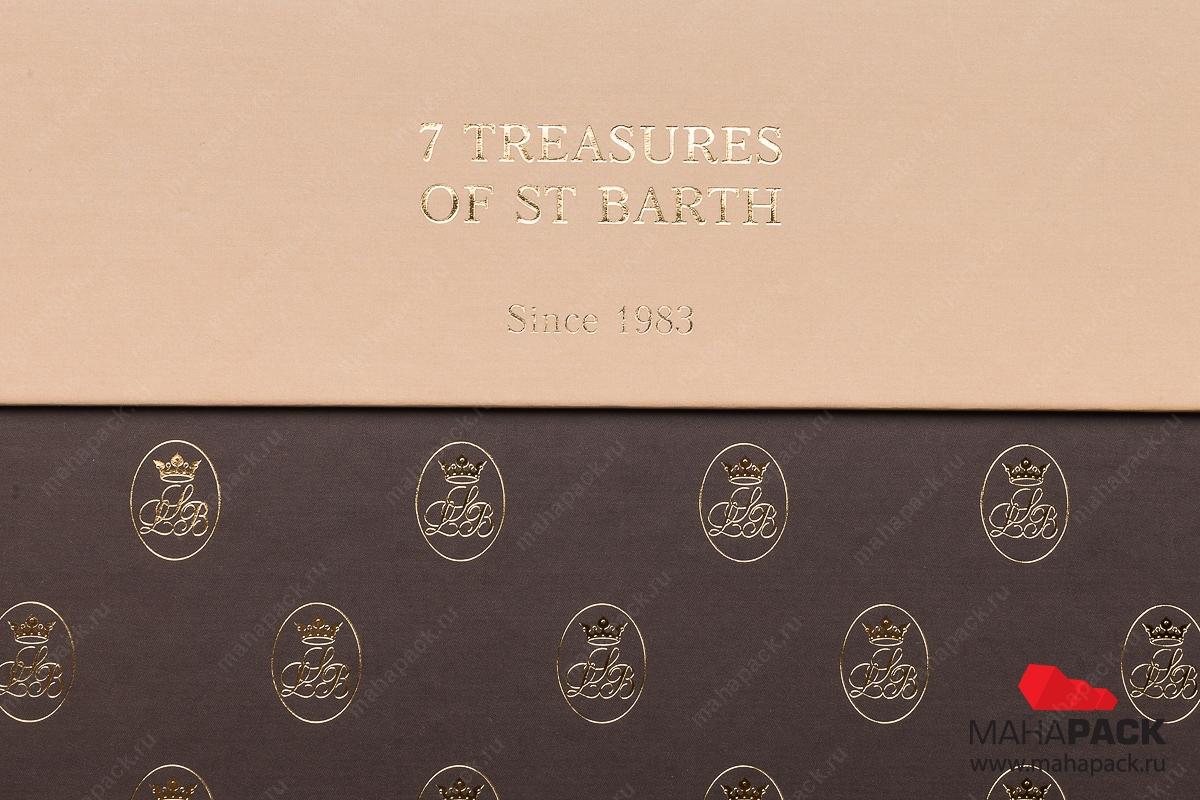изготовление коробки с логотипом на заказ