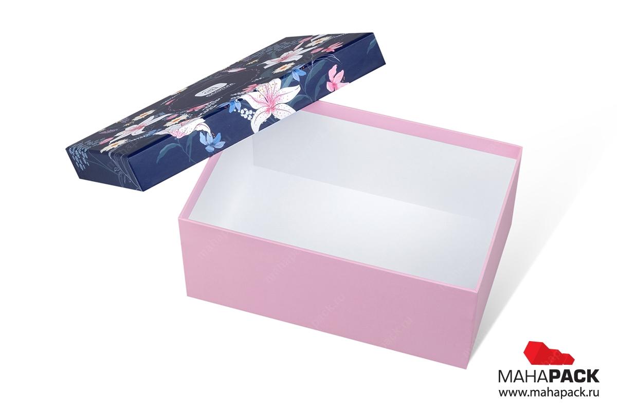 изготовление коробок крышка дно индивидуально