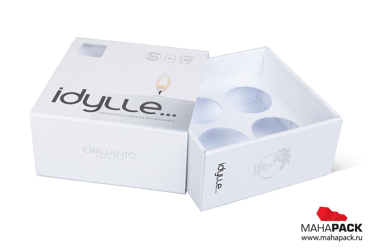 индивидуальная упаковка с логотипом производство