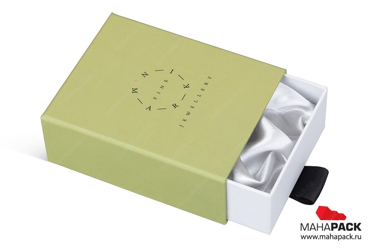 кашированная подарочная ювелирная упаковка