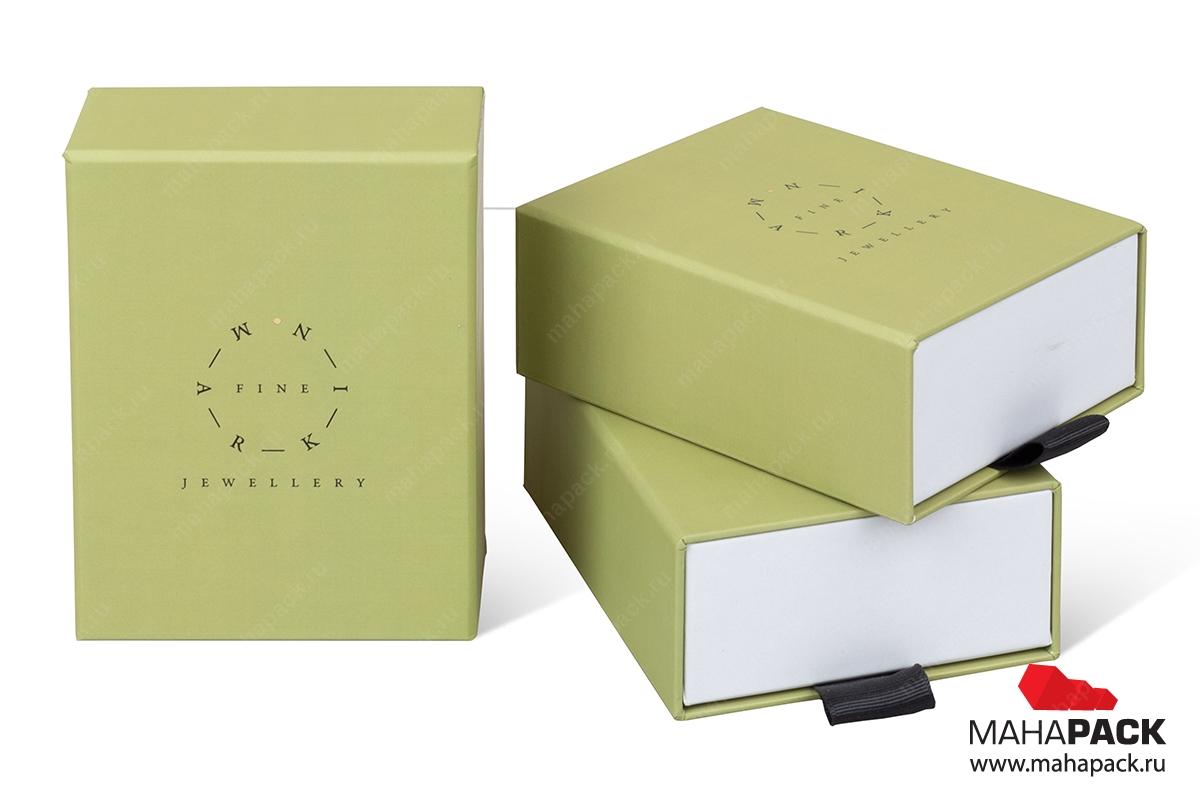 подарочная ювелирная упаковка в Москве тираж