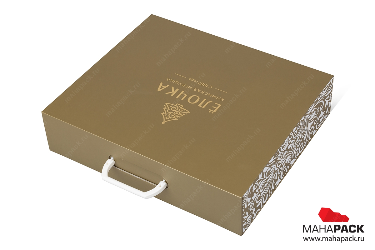 кашированная подарочная коробка на заказ