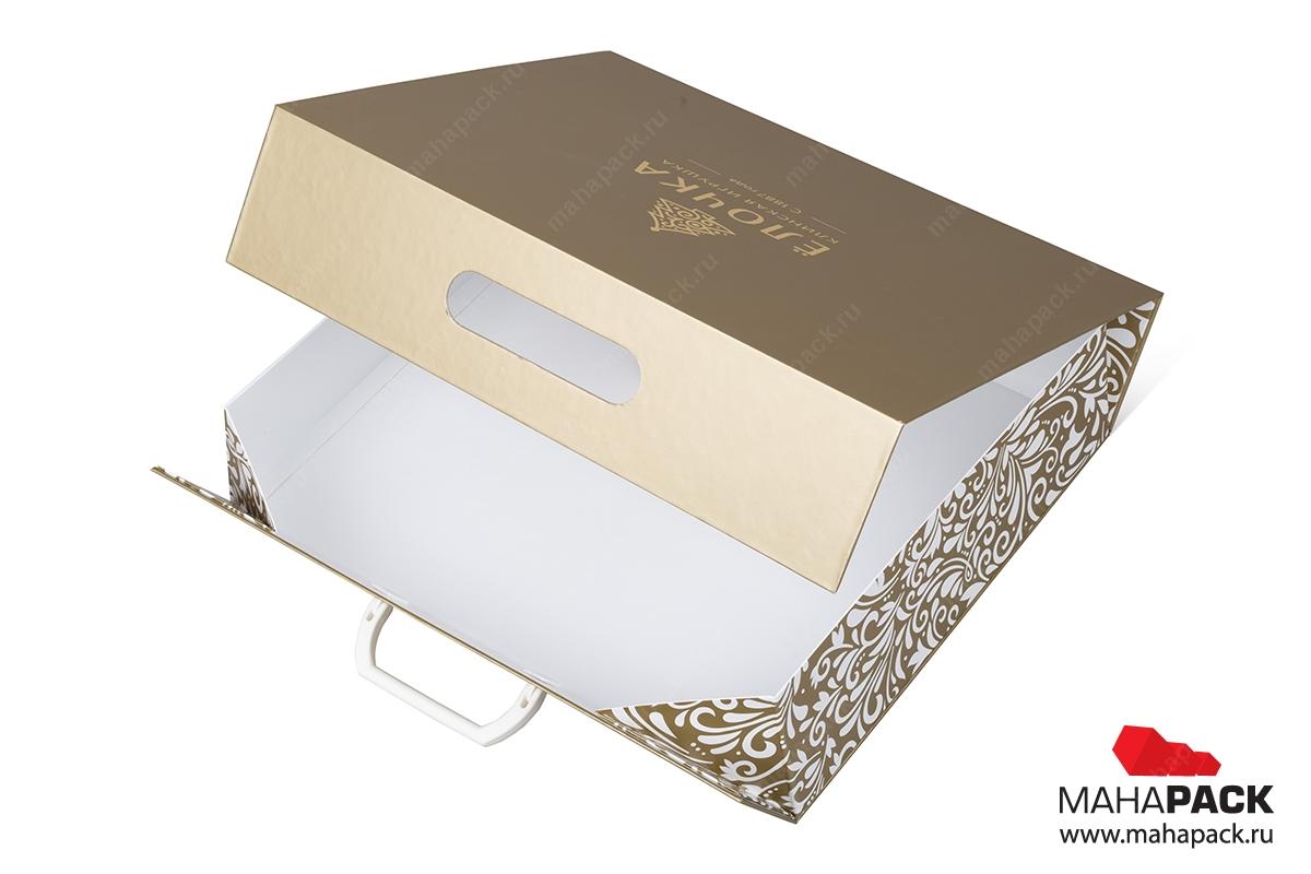 кашированная подарочная коробка оптом