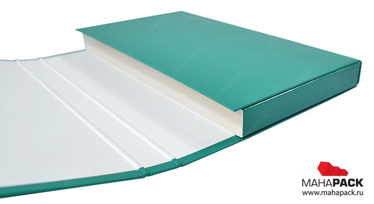 Фирменная папка-презентер с магнитным клапаном
