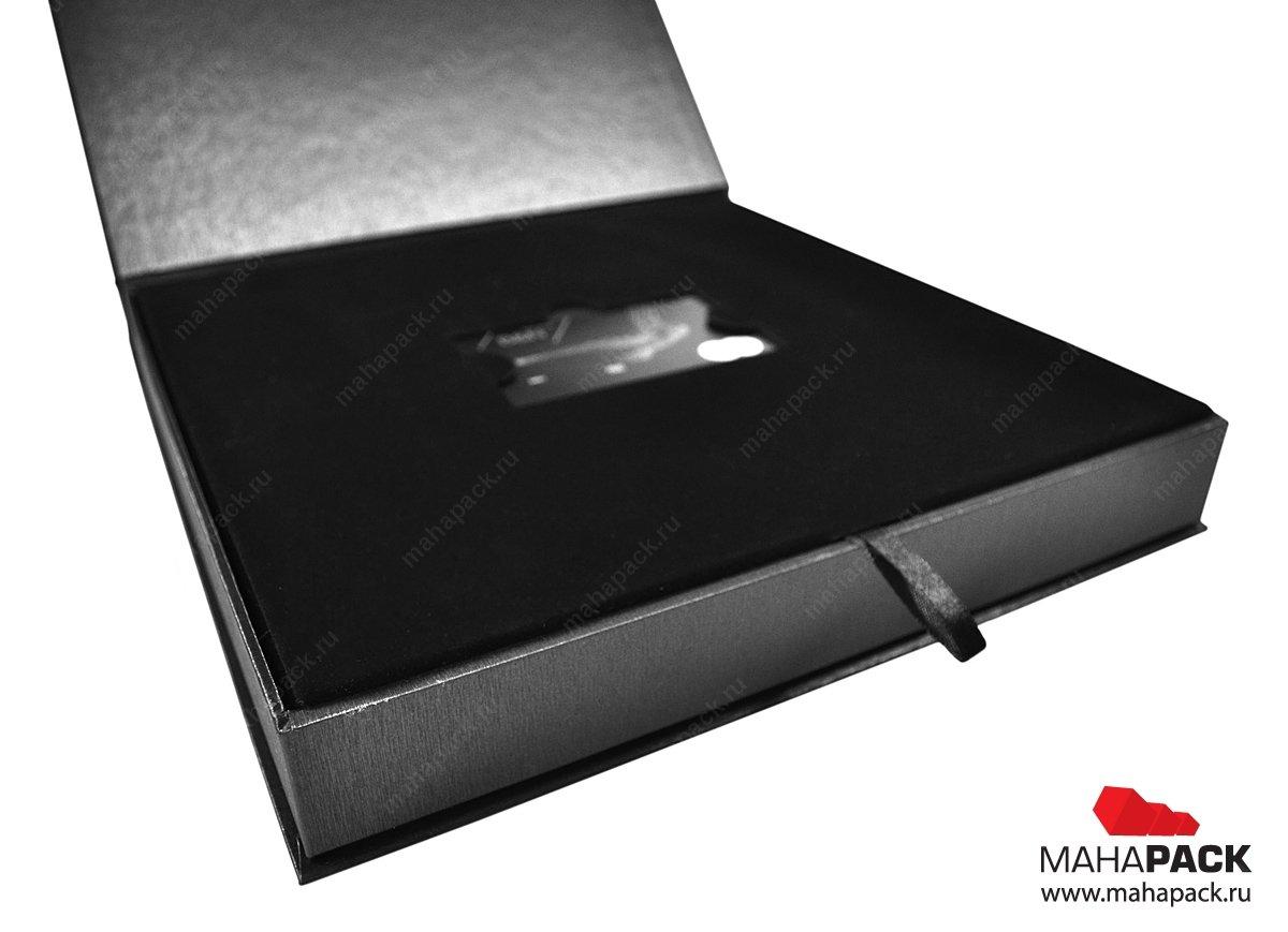 Изготовление упаковки, коробок для пластиковой карты и буклета