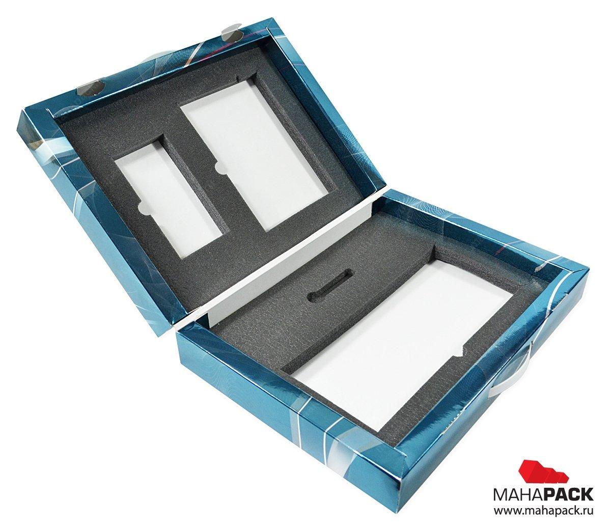 Кашированный портфель для комплекта продукции, промо упаковка для выставок