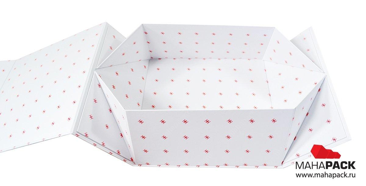 Самосборная коробка, упаковка для подарочного набора