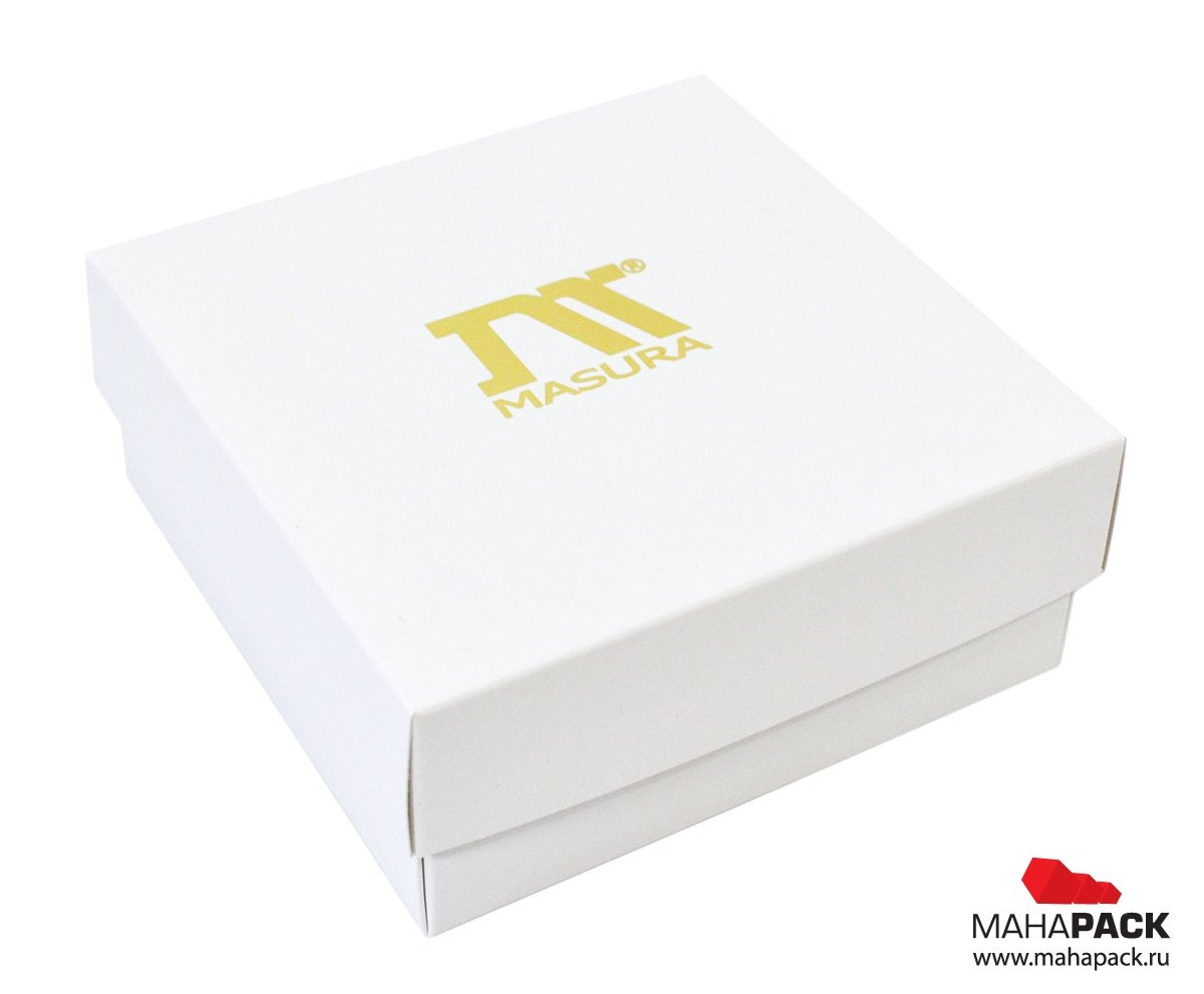 Коробка крышка-дно для косметики