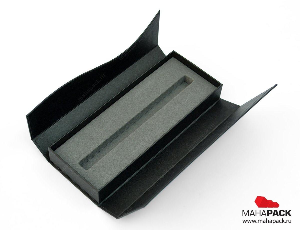 Кашированная коробка-сундучок на магните