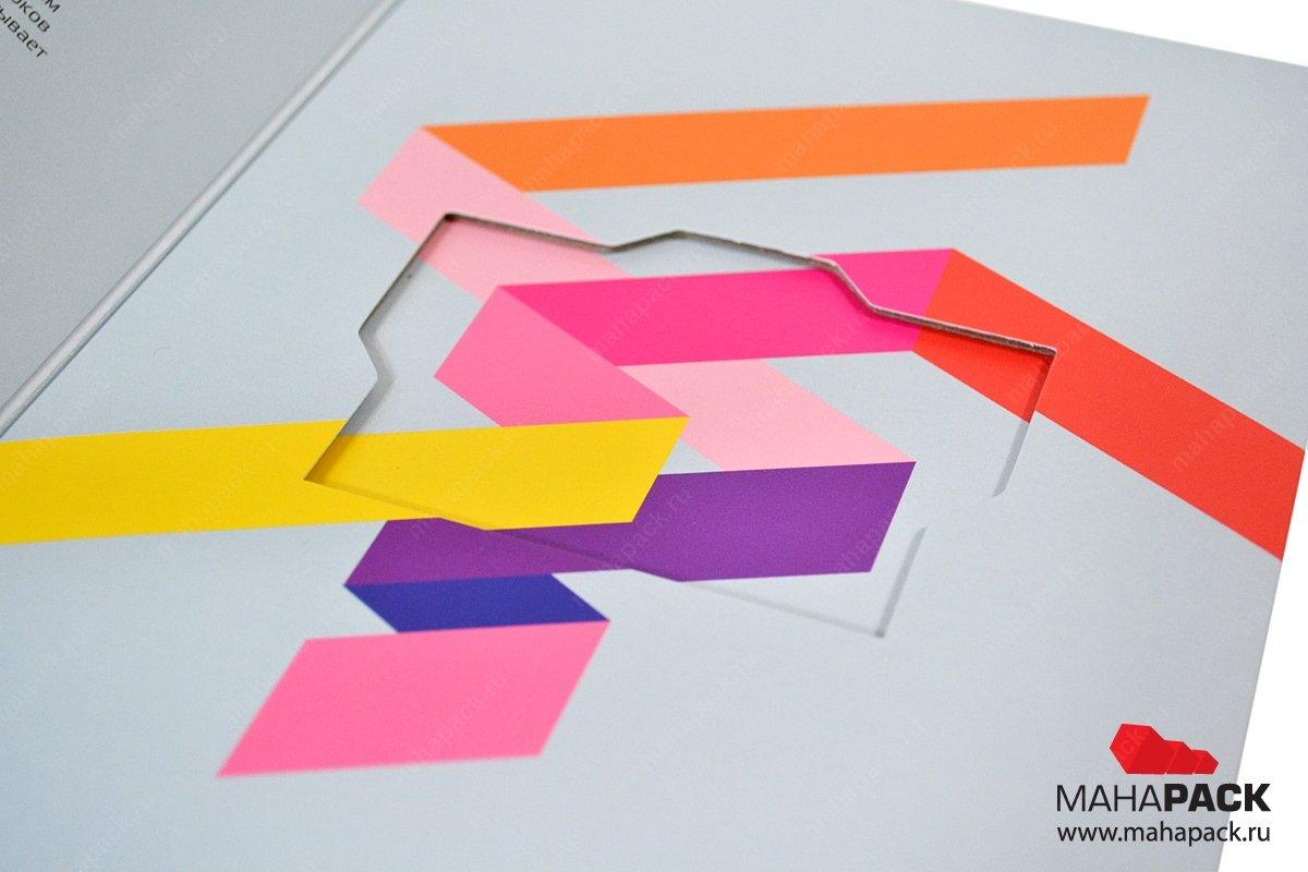 Производство картонных упаковок для флеш-карты