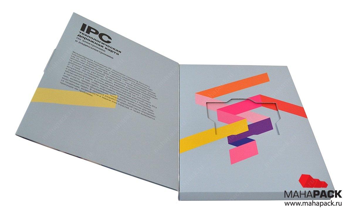 Производство коробочек для флеш-карты