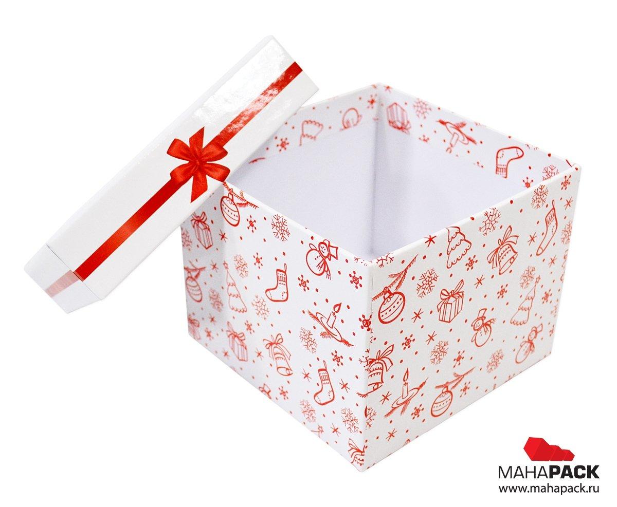 Кашированная коробка на заказ