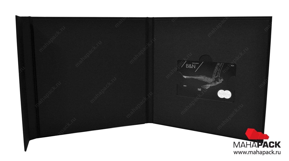 Фирменный кардпак, эксклюзивная упаковка для пластиковой карты