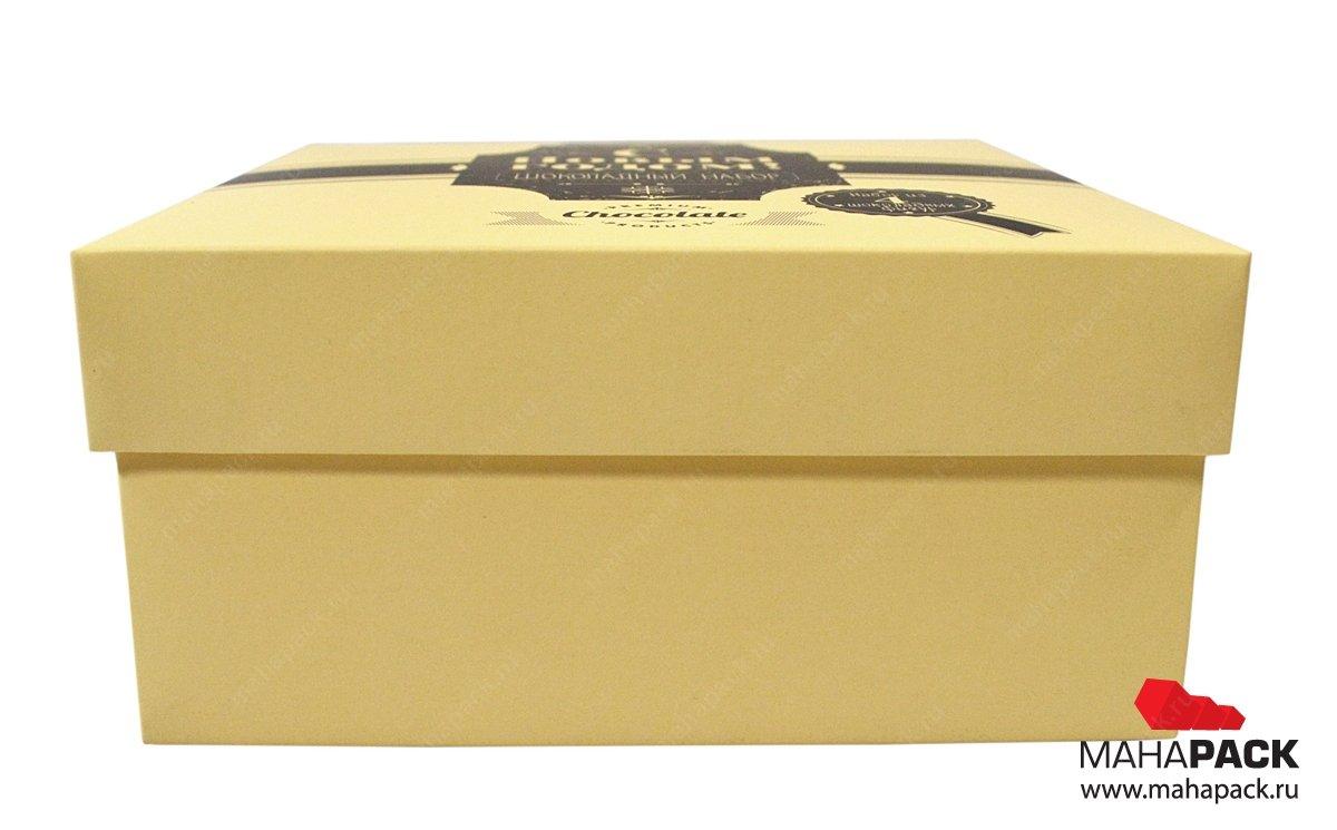 Качественная печать упаковки крышка-дно для шоколада