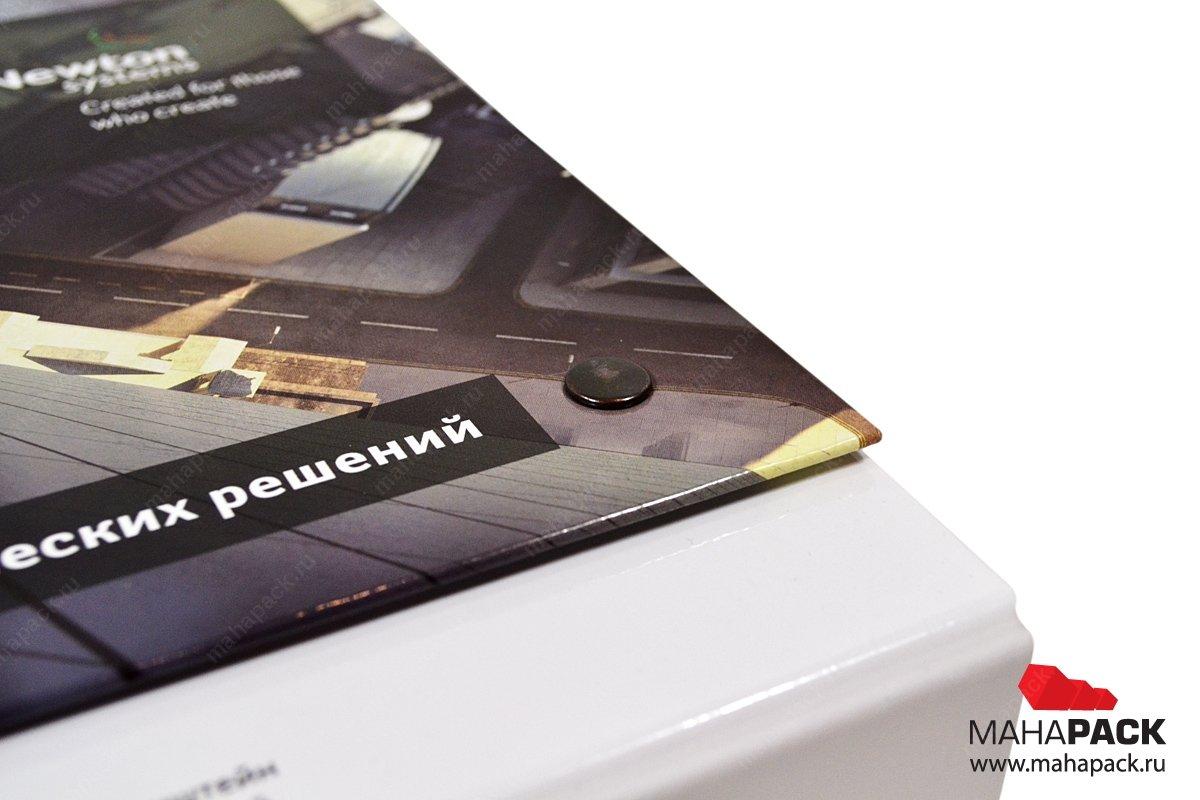 Папка-портфель для выставки. Упаковка премиум класса для промо-материалов
