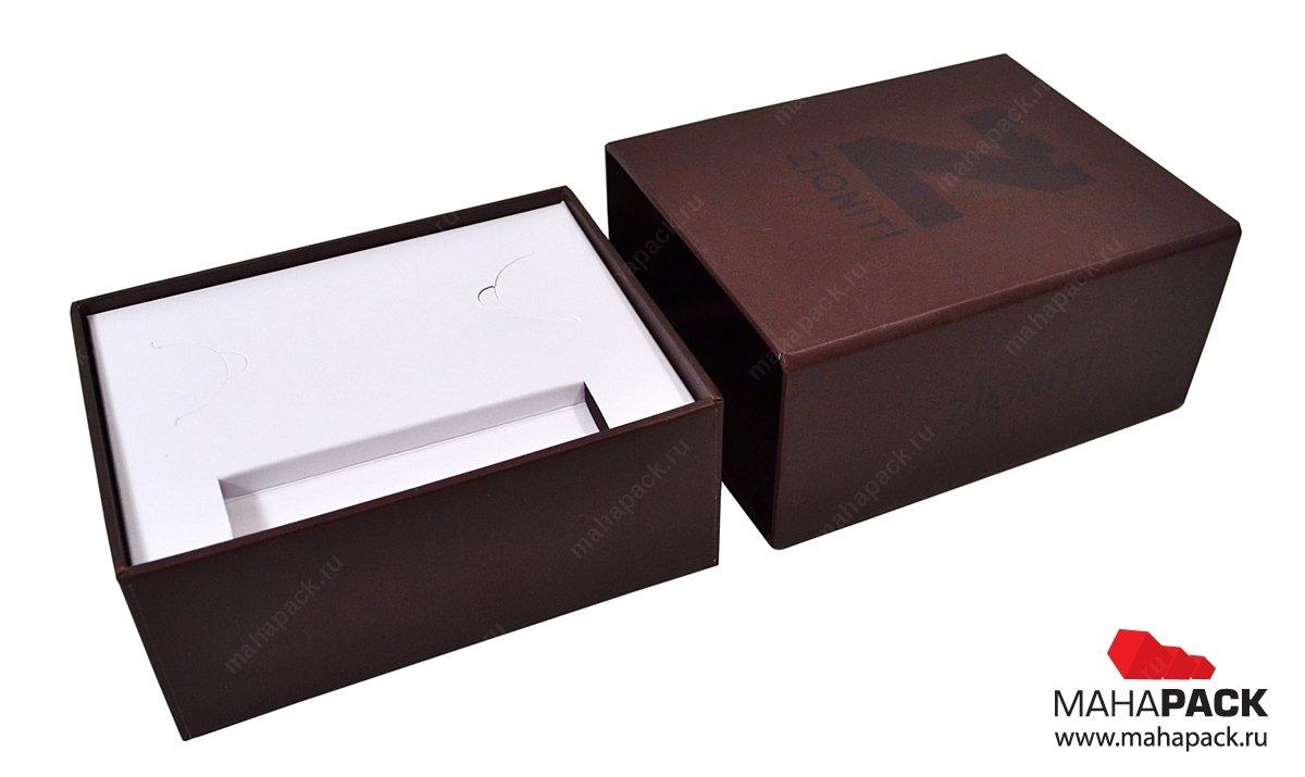 Кашированная упаковка для флешек