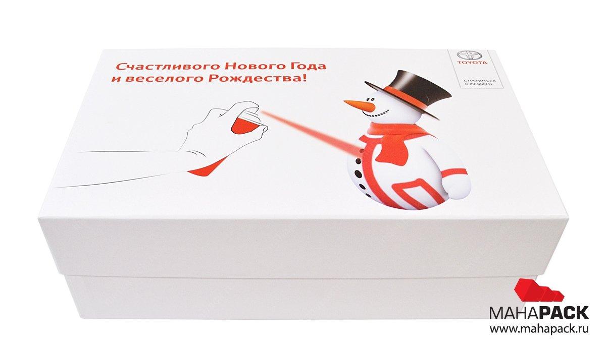 Кашированная упаковка, коробочки с перегородками для подарочного набора