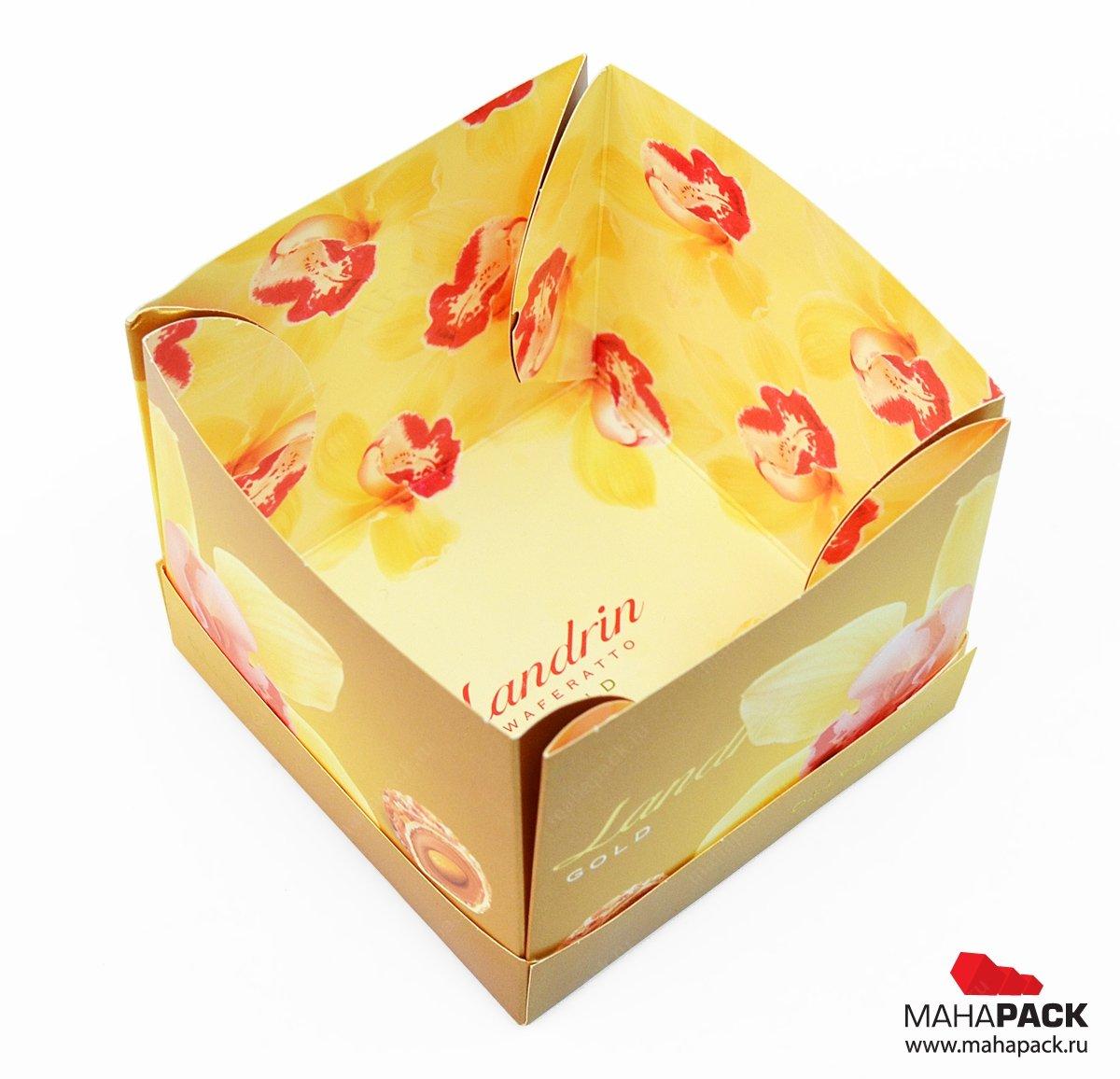 Самосборная коробка - self-pack