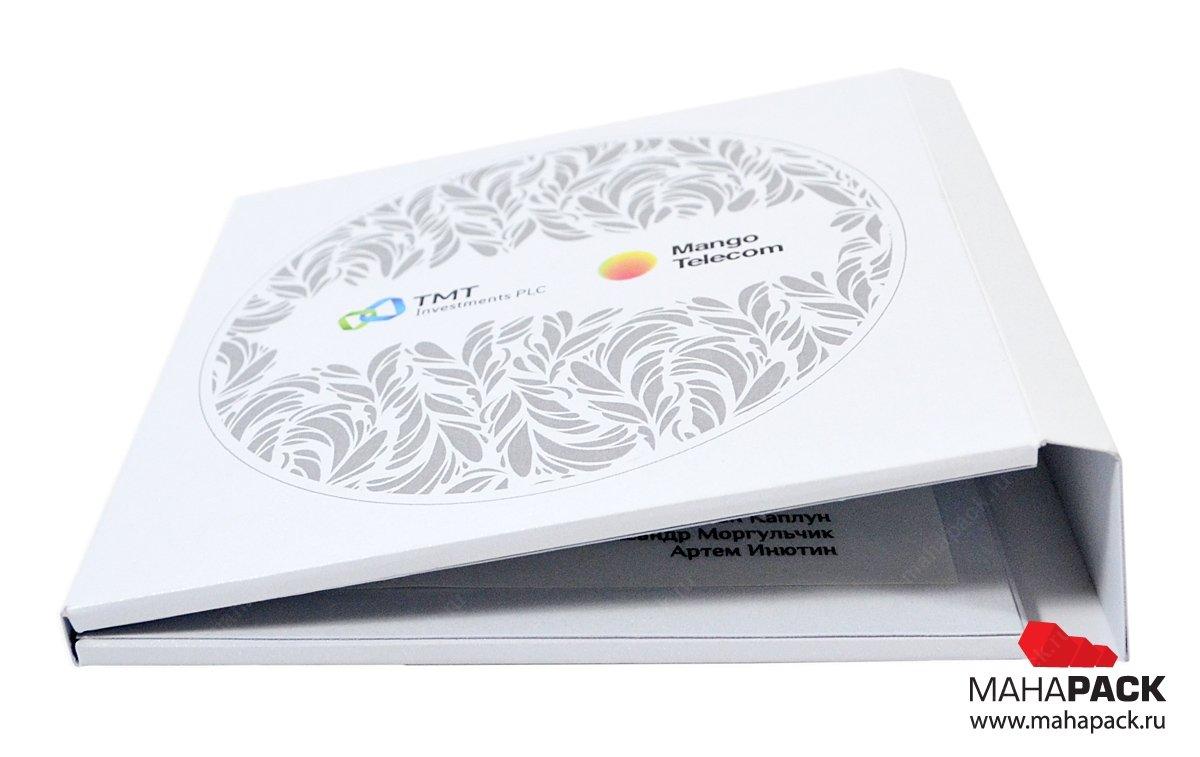 Индивидуальная упаковка для пластиковой карты