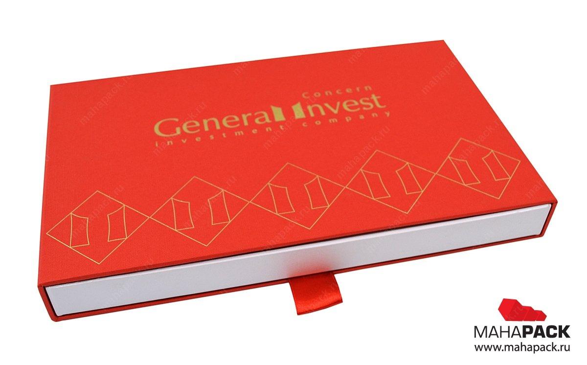 Индивидуальная упаковка с ложементом для сертификата