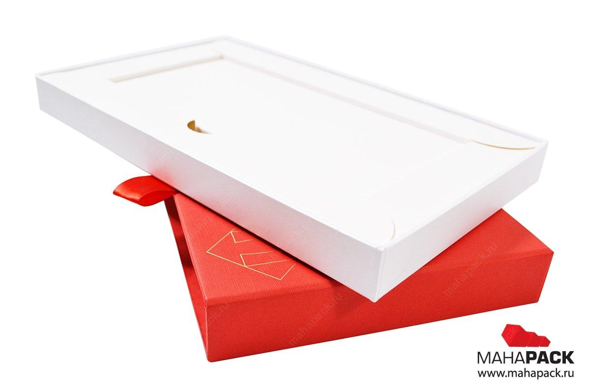 Люкс упаковка с ложементом для сертификата