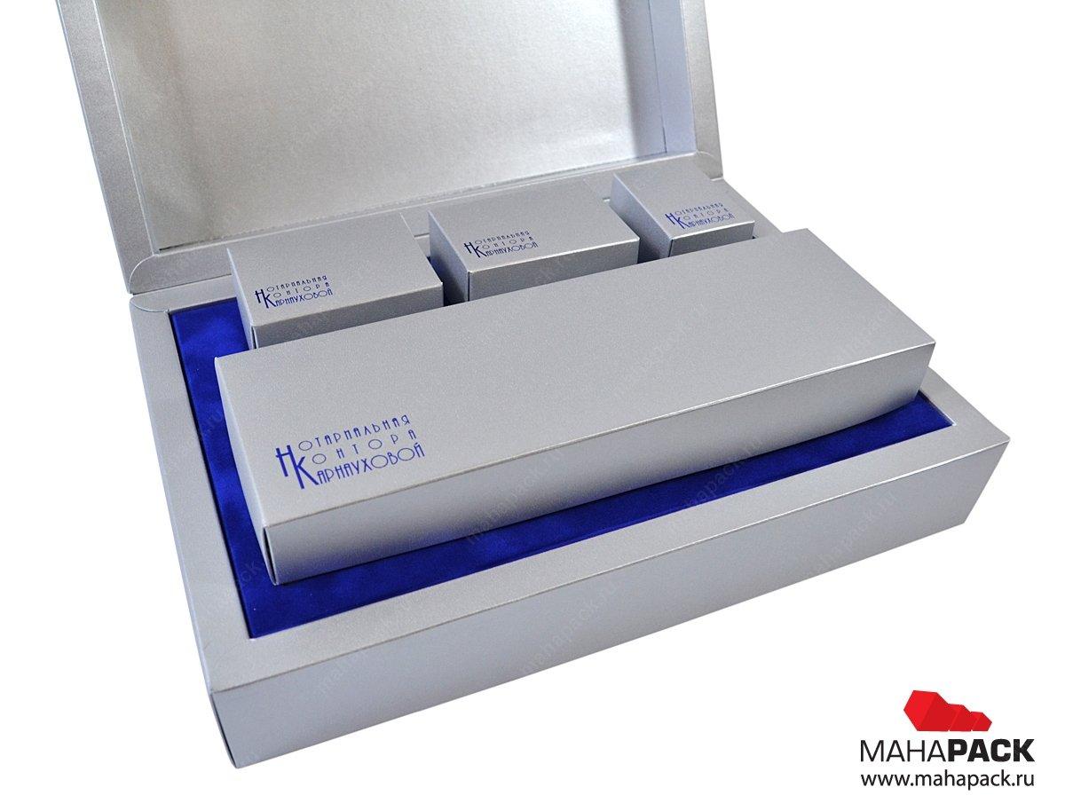 Коробка на магните для подарочного набора