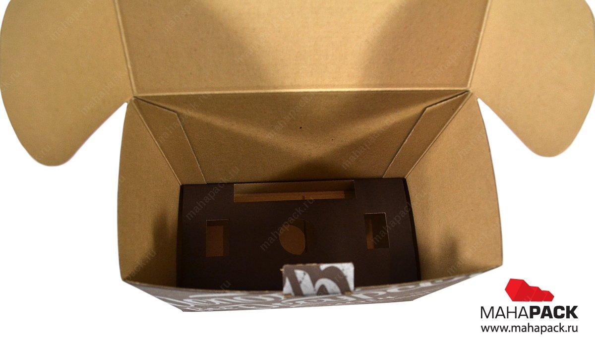 Упаковка подарочная, коробка из экологичных материалов на заказ