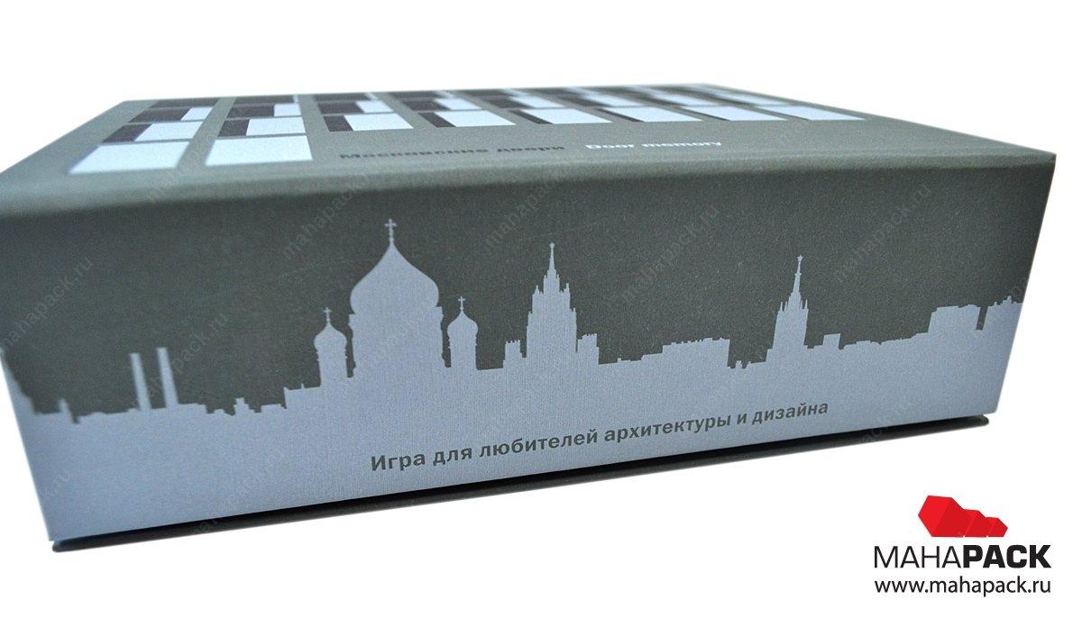Коробка на магните с ложементом для настольной игры